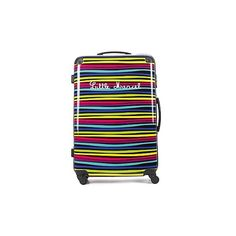 Little Marcel ZEBRAS 75 Hard Suitcase (6.750 RUB) ❤ liked on Polyvore featuring bags, luggage and multicolour