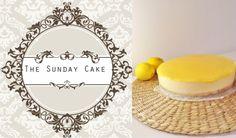 1/2 torradinha e um pingo: The Sunday Cake- Cheesecake de Limão
