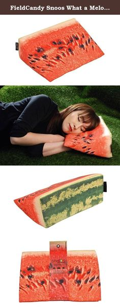 *NEW* FieldCandy What a Melon Snoos Pillow Wedge Travel Pillow Made in the UK