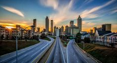 75/85 Downtown Atlanta