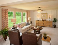 Family Room Large Windows The Quentin Floor Plan Drees Homes Cincinnati And Northern
