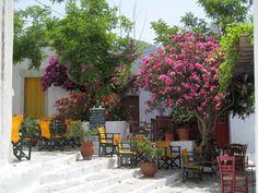 A cafe in Chora, Amorgos