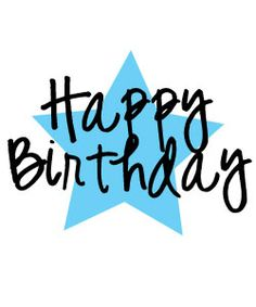 Free Happy Birthday Clipart and graphics to for invitations, banners and more! #compartirvideos.es #happybirthday