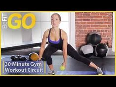 BeFiT GO: 30 Min Gym Circuit Workout is an explosive, total-body circuit workout set to some of today's hottest workout music, that employs an effective comb. Hiit Workouts Kettlebell, Hiit Workout Videos, Circuit Training Workouts, Fun Workouts, Workout Music, Best Workout Plan, Workout Plans, 20 Minute Workout