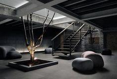 Stones 2.0 Collection - SO 12 PIetra Serir | #Architecture #Design #Ceramics #Tiles #Ecology #Grey #Indoor @Djoeke Floor