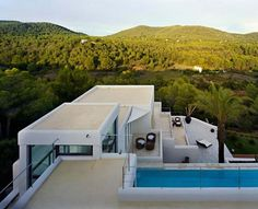 Casa Jondal 2 Ibiza Dream Residence Combining Spanish Architecture and Modern Design