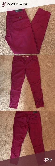 Seven7 Woman's Jeggings Pre-Owned Seven 7 Jeggings Excellent Condition Seven7 Jeans Skinny
