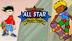 All Star Skate Park Disney Junior, Skate Park, Online Games, Cartoon Network, All Star, Ronald Mcdonald, Mario, Fictional Characters, Fantasy Characters