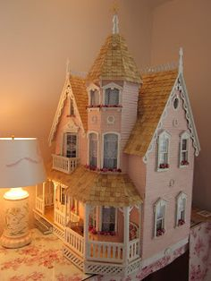 La Grande Maison-The Greenleaf Garfield Dollhouse: A Place To Call Home - dollhouses - Doll House Dollhouse Supplies, Dollhouse Kits, Modern Dollhouse, Dollhouse Dolls, Dollhouse Miniatures, Vintage Dollhouse, Miniature Crafts, Miniature Houses, Miniature Dolls