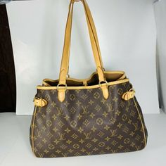 0946c66277be Authentic Louis Vuitton Monogram Batignolles Horizontal Shoulder Tote Bag   fashion  clothing  shoes