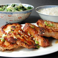 381. Vietnamese grilled pork chops, Suong Nuong - Recipe