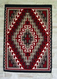 Ganado Klagatoh Navajo Weaving : Risa John White : 3193 - Ganado - Contemporary- Getzwiller's Nizhoni Ranch Gallery - NavajoRug.com