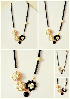 long handmade necklace - pearls, czech crystals, porcelain flowers, lovely pendants and glass beads used for this special piece of jewellery..  code - K1 an-dorablelifeJWLS https://el-gr.facebook.com/pages/MyAndorableLife/111119679052345