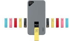 An iPhone Case That Poops Flash Drives