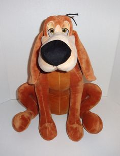 "Disney Store Exclusive 17"" Bruno Plush Dog Princess Cinderella  #Disney #toys #gifts"