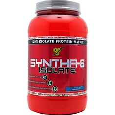BSN Syntha-6 Isolate High Quality Whey Protein