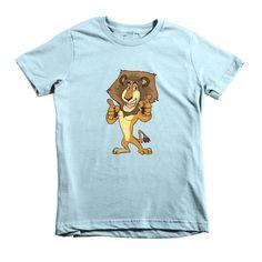 """Kids """"Alex the Lion"""" Short Sleeve T-Shirt"""