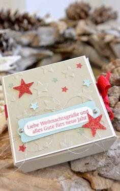 klikaklakas kreativer kram: Eine kleine Sternchenbox . . .