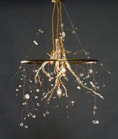River Root Chandelier genuine silver leaf natural quartz and cut cryst.,River Root Chandelier genuine silver leaf natural quartz and cut crystals Chandelier and chandelier - romantic and trendy at the same time Noble, simp. Branch Chandelier, Outdoor Chandelier, Branch Decor, Chandelier Lighting, Chandelier Crystals, Deco Luminaire, Iron Chandeliers, Natural Chandeliers, Lamp Cord
