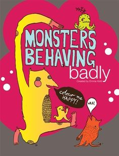 Monsters Behaving Badly Illustrated Interactive by benconservato, $10.00