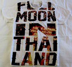 Life is a Joke Eleven Paris Mens Full Moon in Thailand Print T Shirt White Large #LifeisaJokeElevenParis #GraphicTee