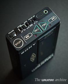 SONY WM-7 | The Walkman Archive Radios, Sony Design, Sony Electronics, Retro, Tape Recorder, Cassette, Audio Player, Hifi Audio, Vintage Cameras
