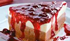 A gente não conseguiu escolher só uma, então separamos mais de 30 receitas de cheesecake para animar o dia!    MdeMulher