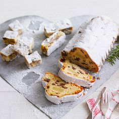 Christmas stollen recipe. For the full recipe, click the picture or visit RedOnline.co.uk