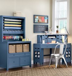 Gorgeous In Blue. Awaken Your Creativity With Beautiful Blue Craft  Furniture. HomeDecorators.com
