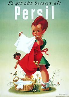 Vintage posters | advertising posters | persil soap