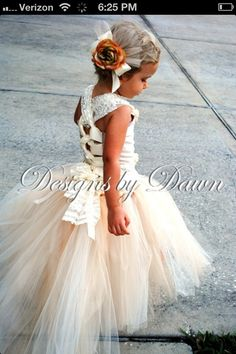 My daughters flower girl dress to be