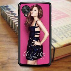 Ariana Grande Pink Signature Nexus 5 Case Nexus 5 Case, Ariana Grande, Phone Cases, Pink, Hot Pink, Pink Hair