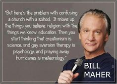Keep religion far, far away from education.