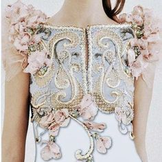 As structured as armour; a dress to be worn to the war that is high society