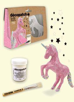 #decopatch #einhorn #einhörner #unicorn #unicorns #pappmaché #DIY #papier #kleber #bekleben #bastelset #basteln #pinsel