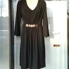 JM studio evening dress nwt Jersey like fabric check pic.for details JM studio by John Meyer Dresses