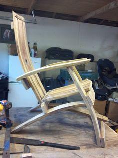 Wine Barrel Project Chair