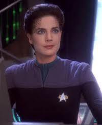The inimitable Lieutenant Commander Jadzia Dax.