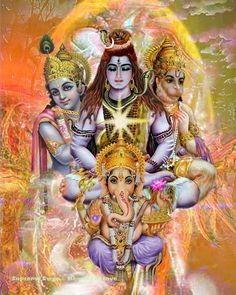 Shiva Parvati Images, Shiva Hindu, Shiva Shakti, Hindu Deities, Hindu Art, Sri Ganesh, Saraswati Goddess, Durga Maa, Arte Shiva