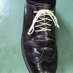靴紐の結び方 アンダーラップ 靴バカ.com Men Dress, Dress Shoes, Dr. Martens, Combat Boots, Oxford Shoes, Lace Up, Fashion, Moda, Fashion Styles