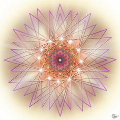 Sacred Geometry Fifty-Seven by Endre Balogh