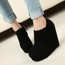 Resultado de imagen de zapatos plataforma cuña