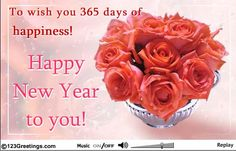Here The Best Collection Of Happy New Year Rose Wallpaper 2018 And Happy  New Year Images 2018 For Your Girlfriend U0026 For Those You Will Be Love.