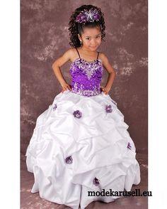 Ballkleid für Mädchen Blumenmädchen Kleid www.modekarusell.eu