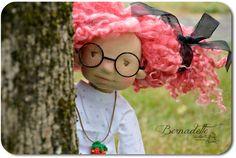 Yes! Dolls can be short-sighted! It happens sometimes! *****  Oui! Les poupées peuvent être myopes! Cela arrive parfois!  13-inch doll available June 11th -12th  HERE
