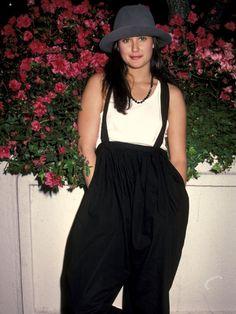 Celebrity Fashion Style 1980s Pics  Demi Moore  1981