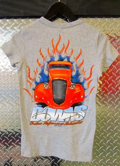 Downs Custom Performance Automotive - Women's Orange Chevy Short Sleeve T-Shirt, Heather Gray, $24.99 (http://www.downscars.com/womens-orange-chevy-short-sleeve-t-shirt-heather-gray/)