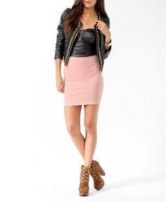 Forever 21, Scuba dress and Dresses on Pinterest