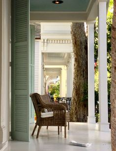 New Orleans porch- Louisiana, USA