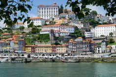 Porto's old-building facades shine like pearls in the Portuguese sun